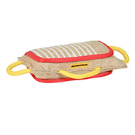 3 Handled Bite Pillow-Training Jute Bite PAD Amstaff training