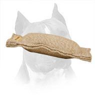 Small Jute Amstaff Training Tug Without Handles