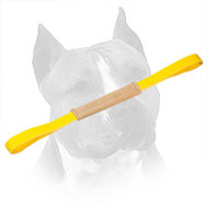 Gentle Leather Amstaff Pocket Toy with Two Handles