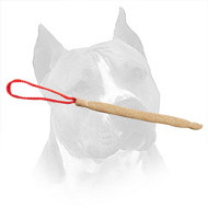Jute Amstaff Pocket Toy for Puppy Bite Skills Development
