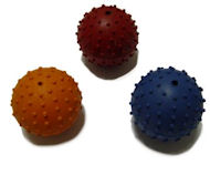 Rubber Squeaky Ball Dog Toy 2 3/8''(6cm)-Amstaff Dog Toys