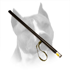 Agitation Training Amstaff Stick With Leather Covered Handle