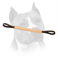 Amstaff Leather Bite Roll with Nylon Handles