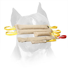 Amstaff Jute Bite Set for Retrieve Training