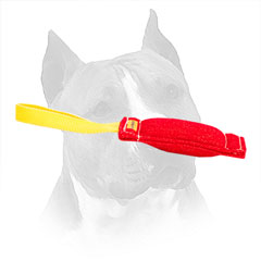 French Linen Bite Toy For Amstaff Retrieve Training