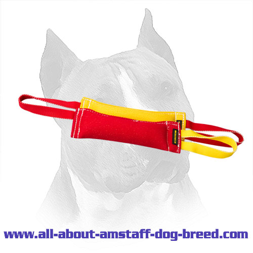 Amstaff French Linen Bite Training Set with Nylon Handles