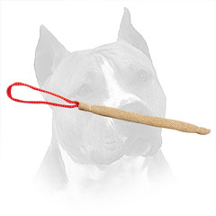 Jute Amstaff Bite Tug For Puppy Training
