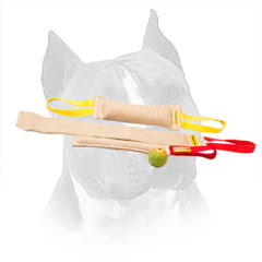 Amstaff Jute Bite Tug Set with Nylon Handles