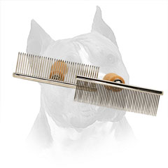 Metal Brush For Amstaff With Chrome Plated Teeth
