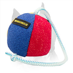 Amstaff Dog Toy French Linen for Enjoyable Playing and Training