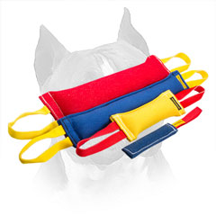 Amstaff French Linen Training Set for Bite Grip Strengthening
