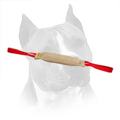 Amstaff Jute Training Tug Stitched With Nylon Thread