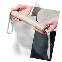 Amstaff Bite Jute Roll With Comfy Handles