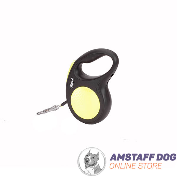 Total Comfort Retractable Leash Neon Design for Everyday Use