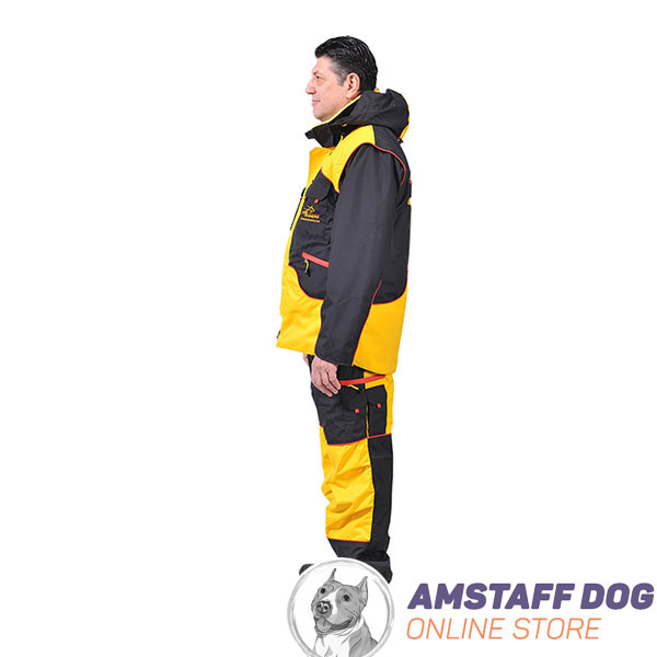 Perfect in Convenience and Protection Dog Training Suit for Safe Training