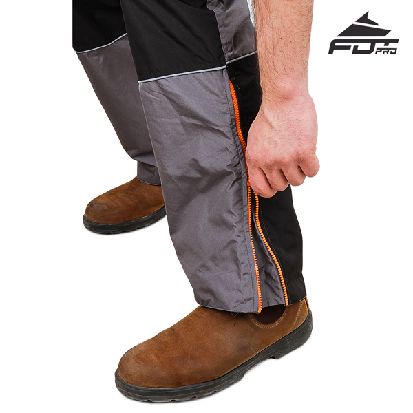FDT Professional Pants with Top Rate Zip fasteners for Dog Trainers