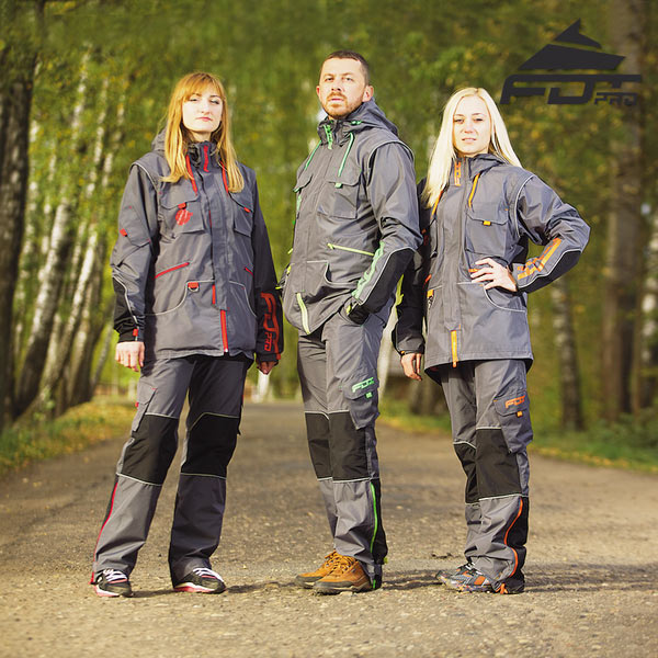 Best quality Dog Training Suit for Any Weather