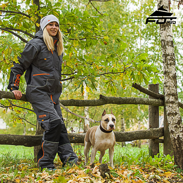 Comfortable Side Pockets on Men / Women Design Pants for Active Dog Training