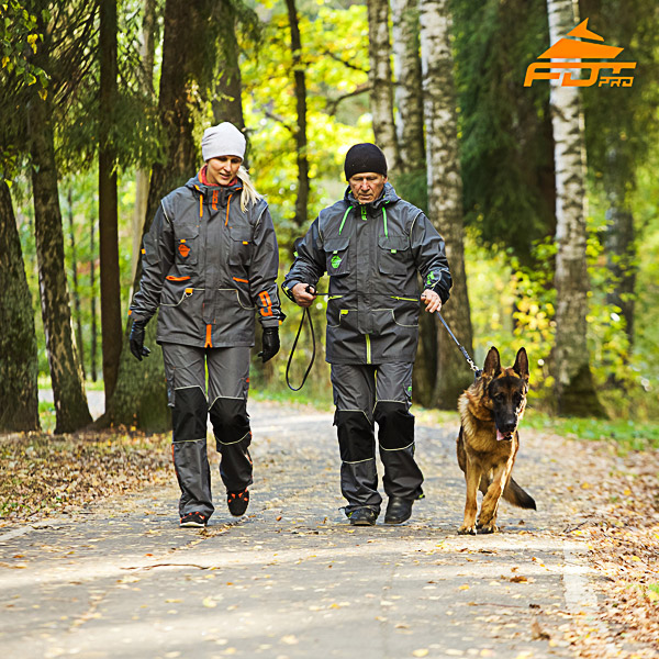 Unisex High Quality Dog Tracking Suit for Men and Women with Reflective Trim