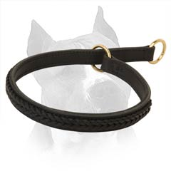 Extra Soft And Durable 2 Ply Leather Dog Collar