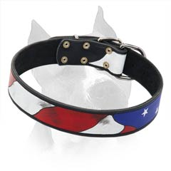 Leather Dog Collar Is Pleasant For The Skin