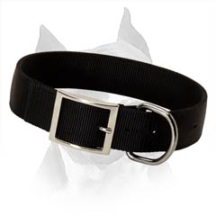 Water Resistant Nylon Dog Collar For American  Staffordshire Terrier