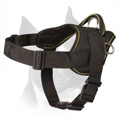 Side Buckled Dog Harness For Quick Release