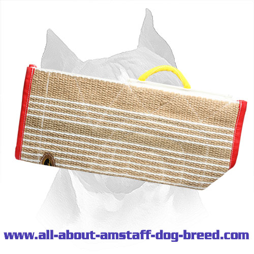 Amstaff Bite Training Sleeve Cover Crafted of Jute Material