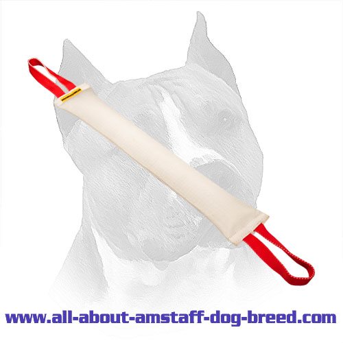Long Amstaff Bite Tug Made of Real Fire Hose