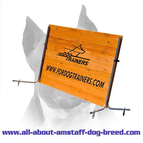 Excellent Quality Amstaff Schutzhund Wood Jump