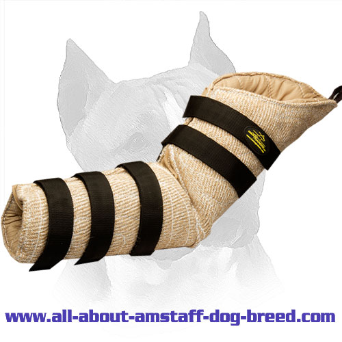 Jute Hidden Protection Amstaff Sleeve for Schutzhund Training