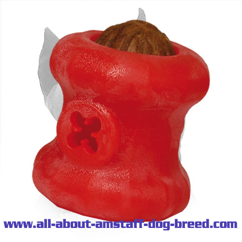 'Rolling Feeder' Fun Chewing Amstaff Toy - Large