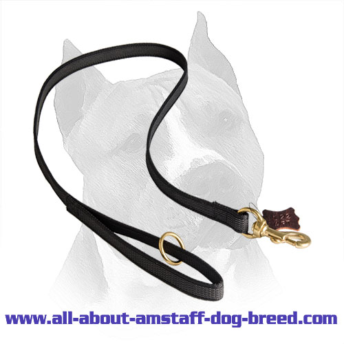Amstaff Lead Comfy Nylon Handle